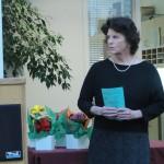 Leila receiving the Susan B.Anthony Award. 5/7/15