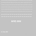 word rain 2015