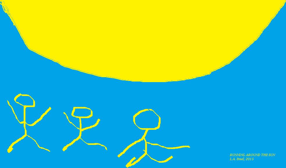 running around the sun