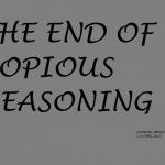 COPIOUS REASONING 13