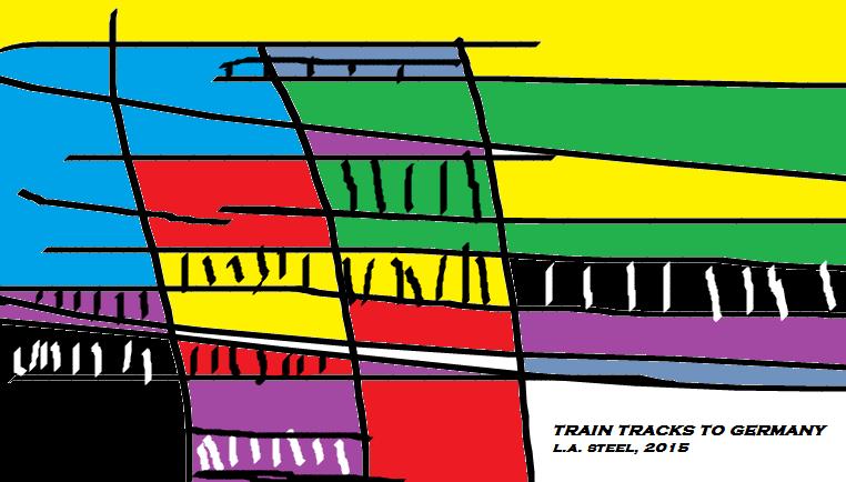 train tracks to germany  2015