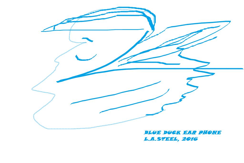 BLUE DUCK EAR PHONE