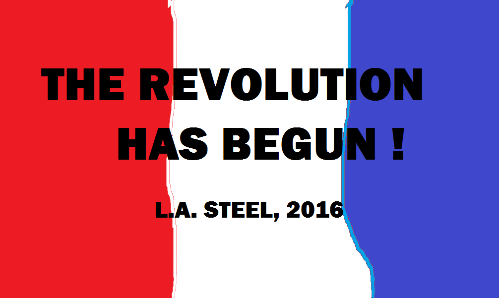 THE REVOLUTION AS BEGUN 2016