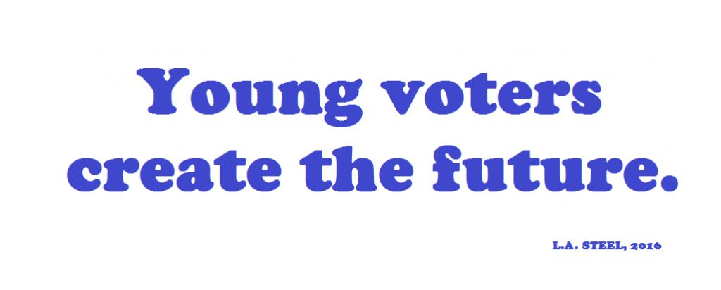 YOUNG VOTERS ARE THE FUTURE