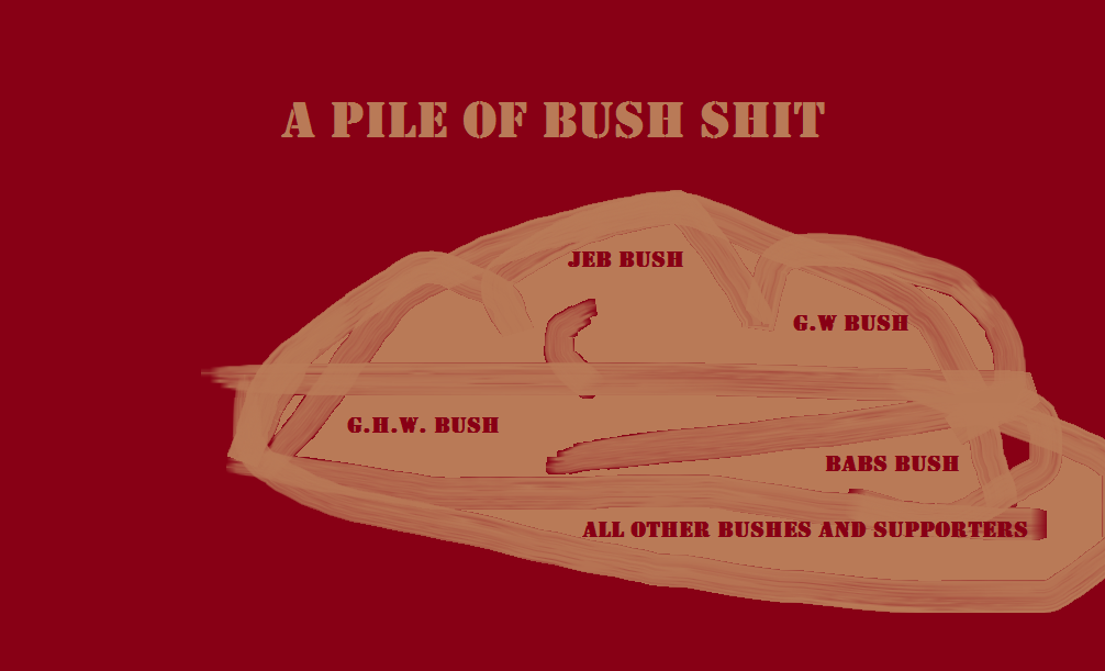pile of bush shit