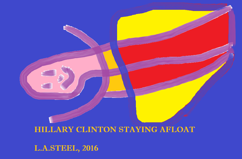 HILLARY CLINTON STAYING AFLOAT
