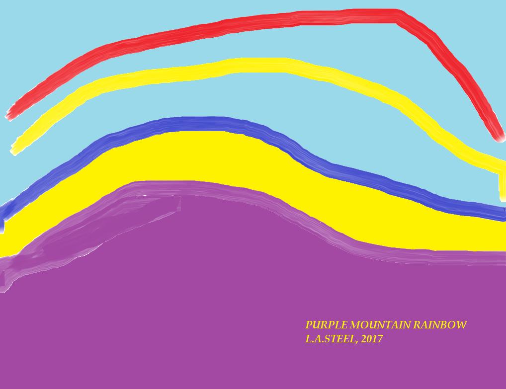 PURPLE MOUNTAIN RAINBOW 2017