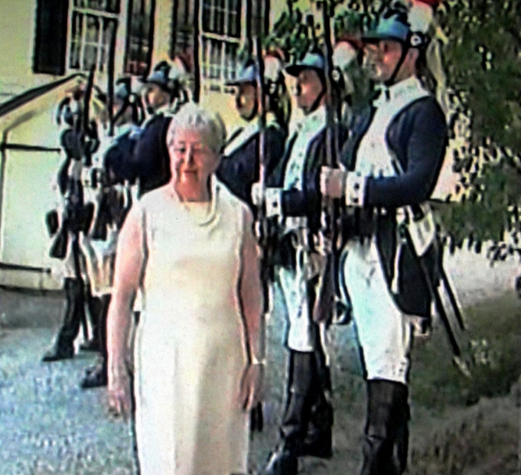 nancy johnson inspecting dragoons
