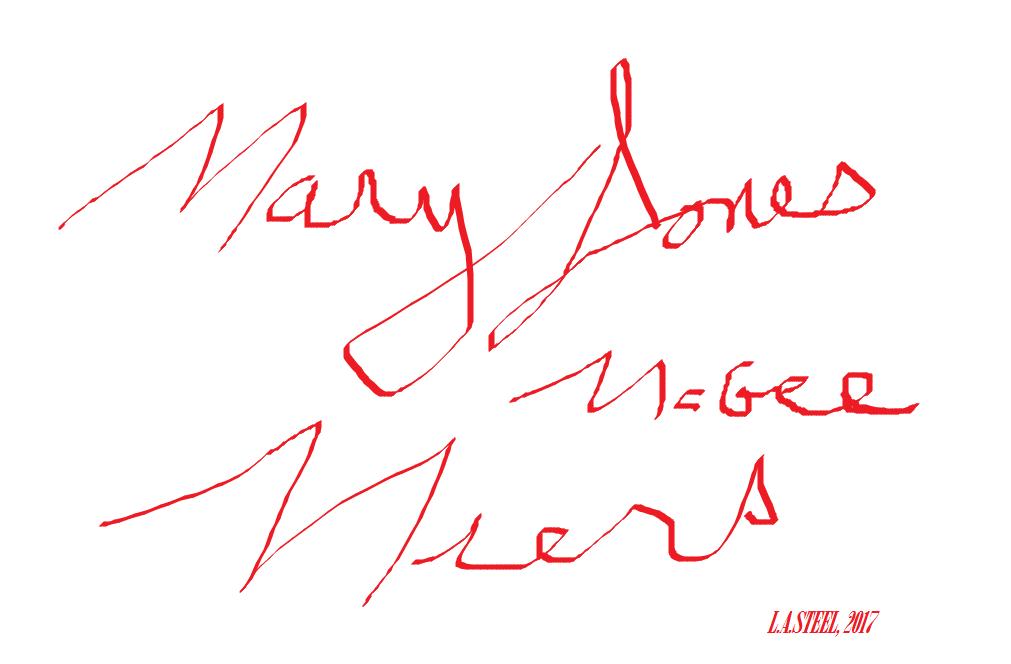 MARY JONES MCGEE MIERS 2017