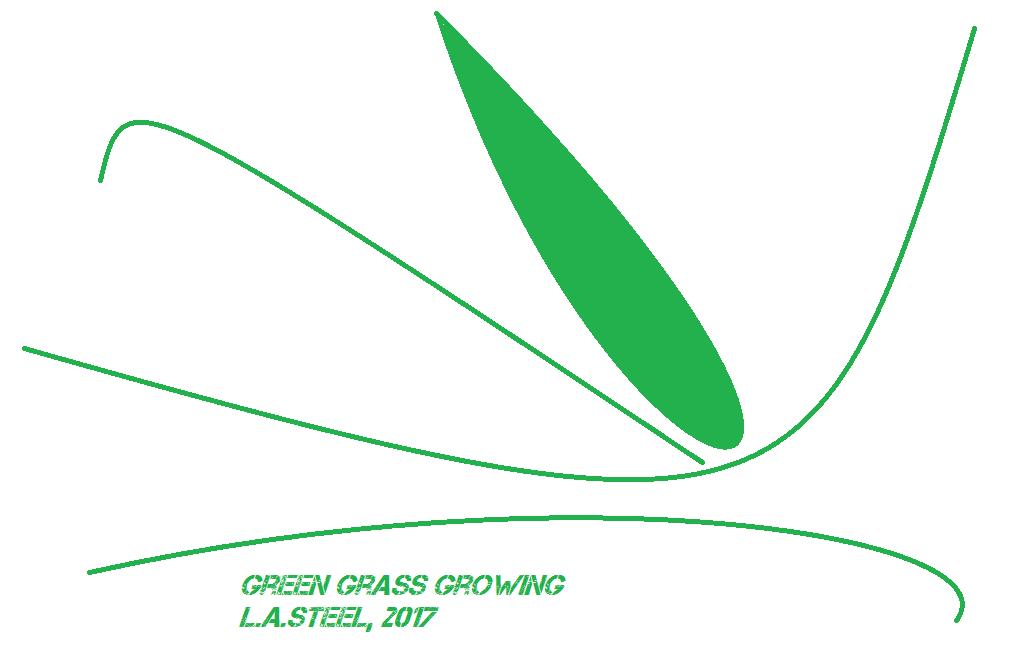 green grass growing 2017