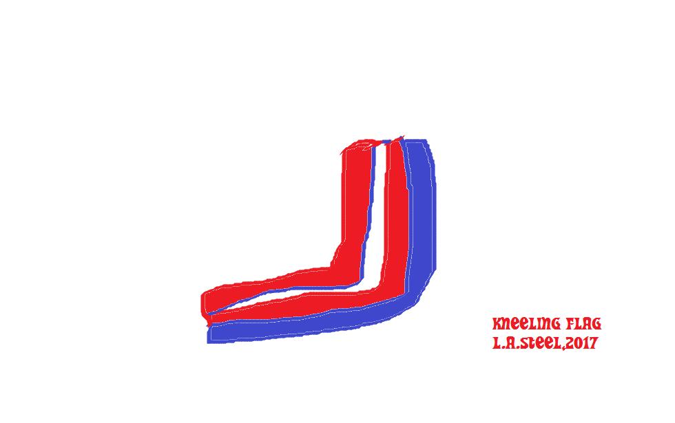 KNEELING FLAG 2 2017