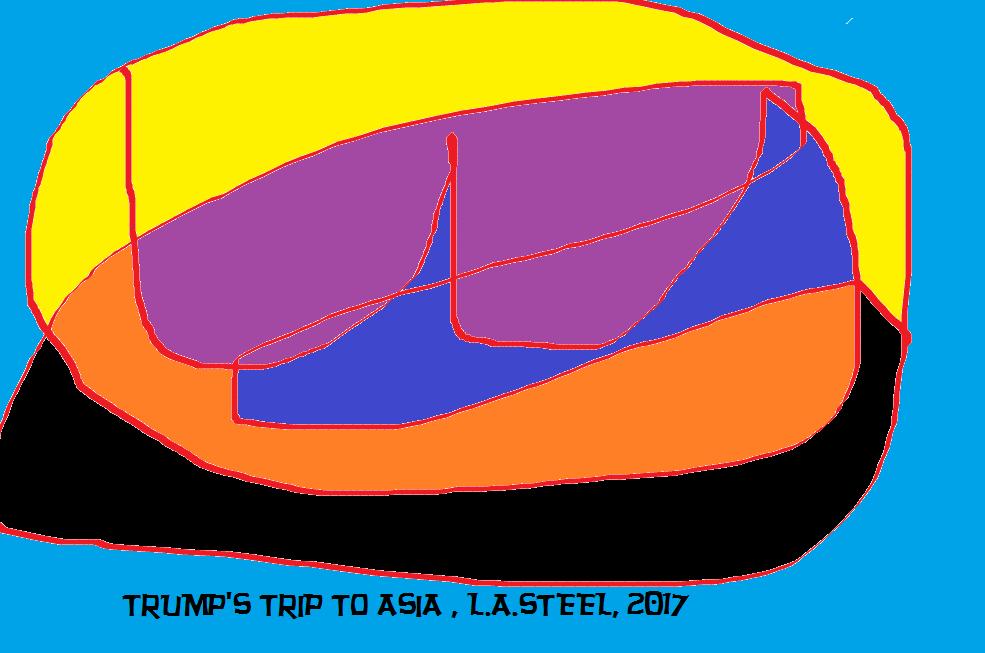 TRUMP'S TRIP TO ASIA 2 2017