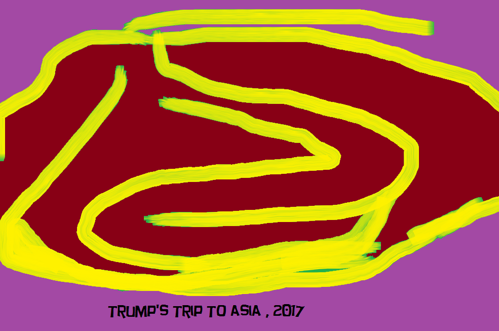 TRUMP'S TRIP TO ASIA 5 2017