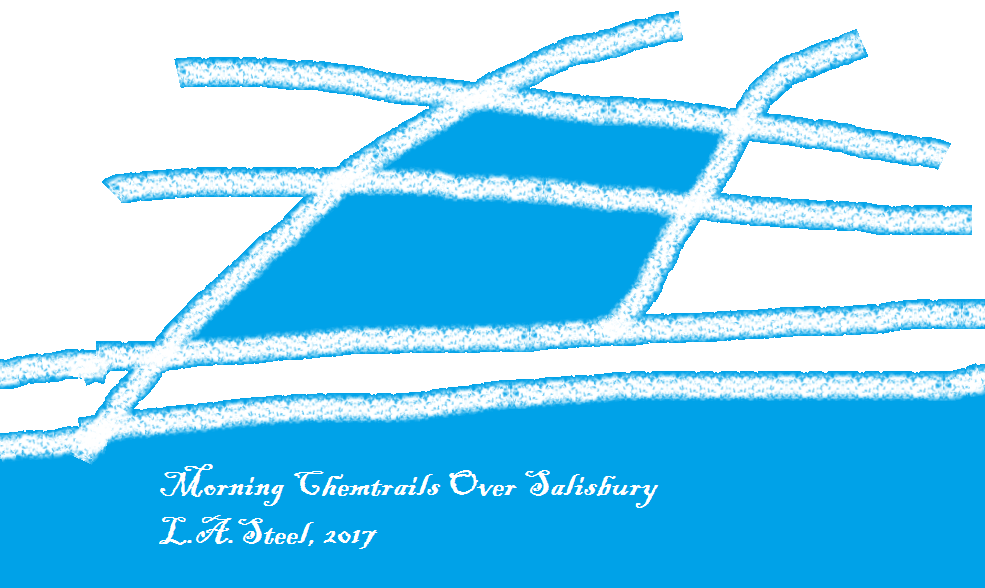 morning chemtrails over salisbury 2017