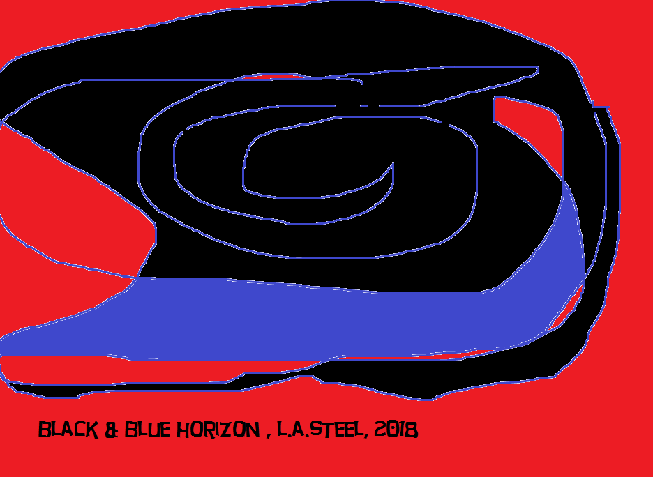black and blue horizon 2018