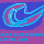 purple blue universe 2018