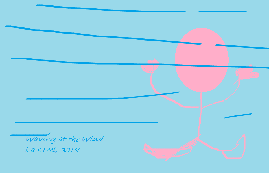 waving at the wind 2018