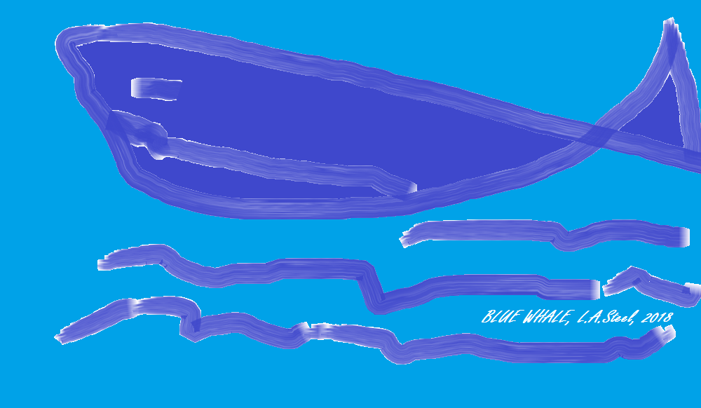 blue whale 2018