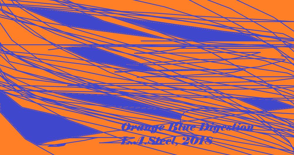 orange blue digestion 2018