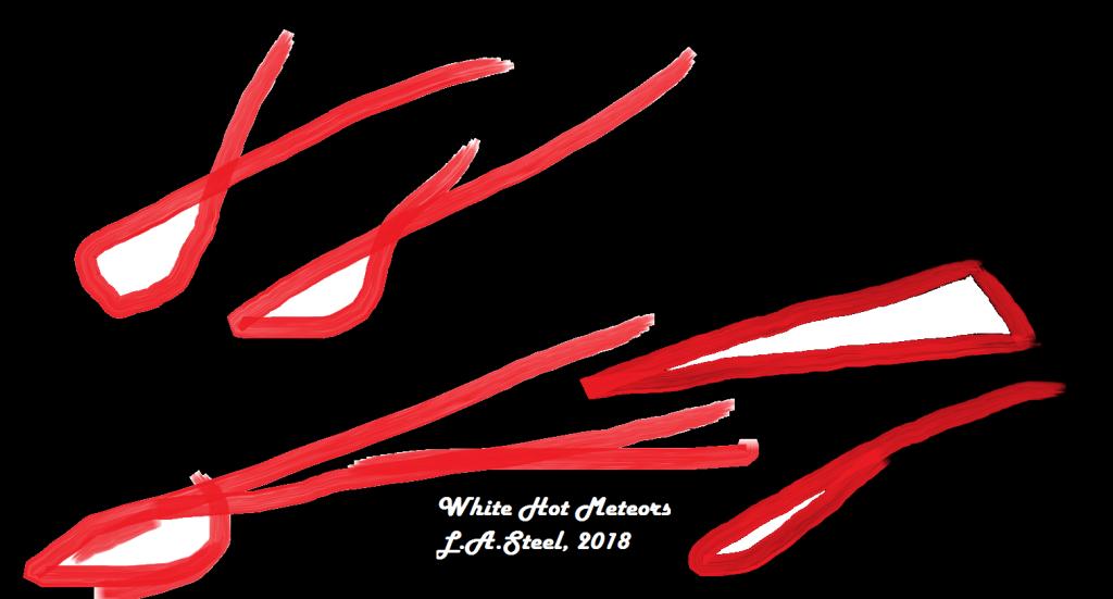 white hot meteors 2018