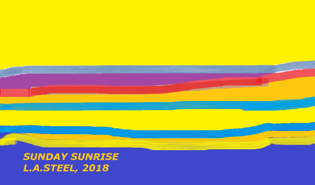 sunday sunrise 2018