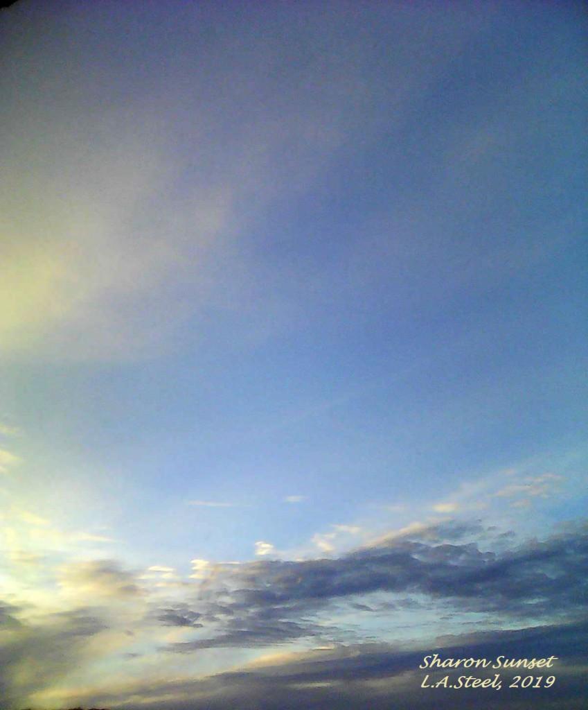 sharon sunset 8 2019