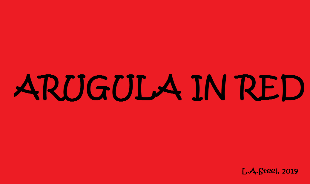 arugula in red 2019