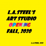 lasteels art studio opening fall 2020