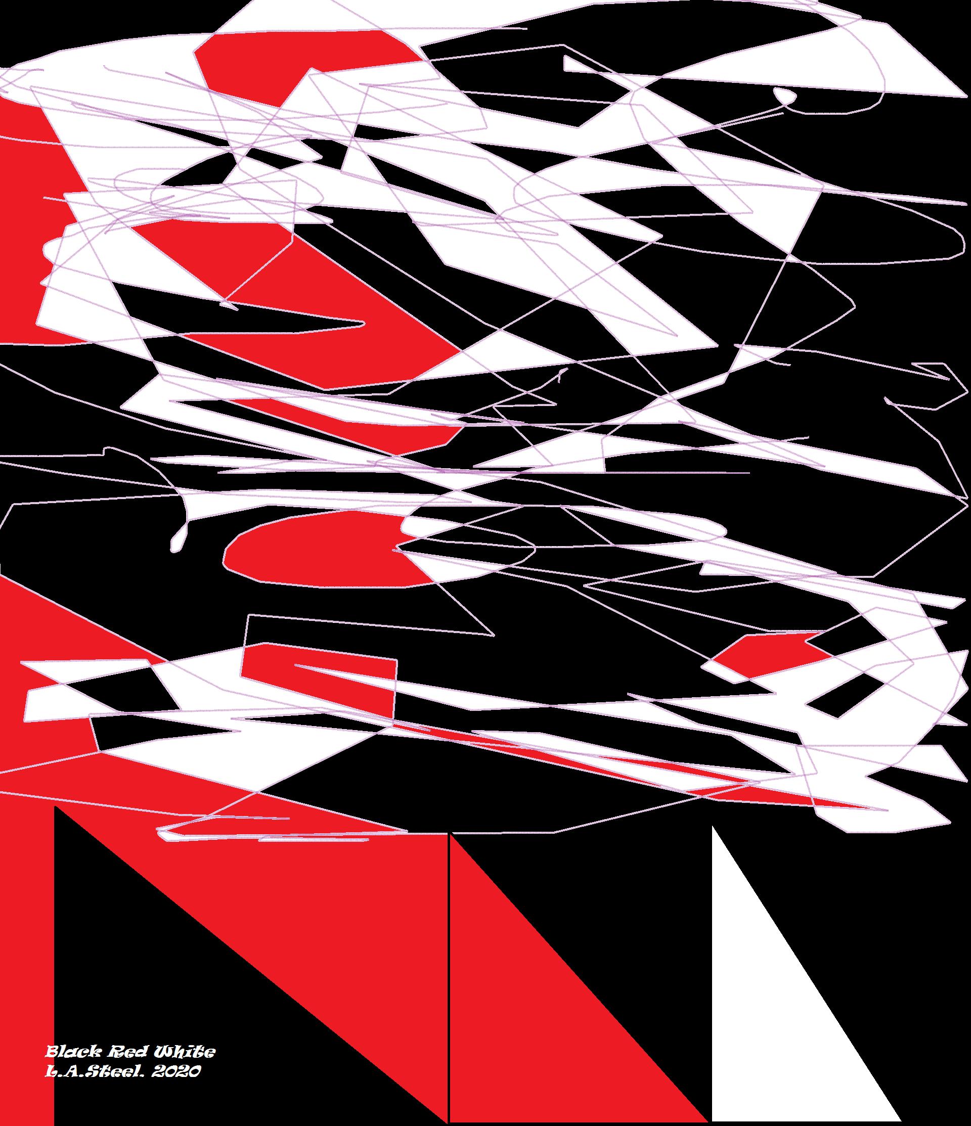black red white 2020