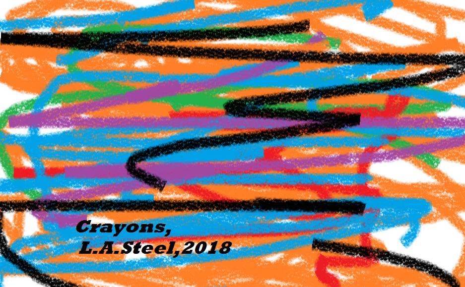 crayons 2018