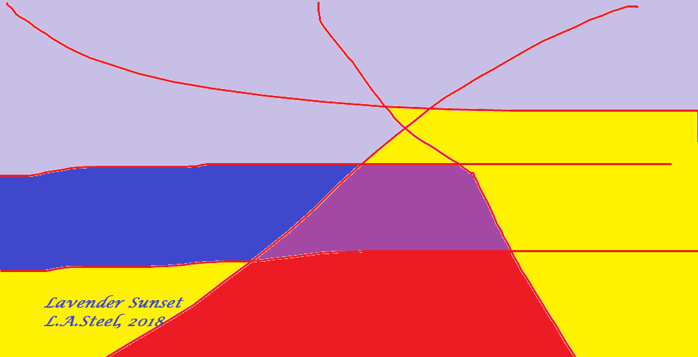 lavender sunset 2018